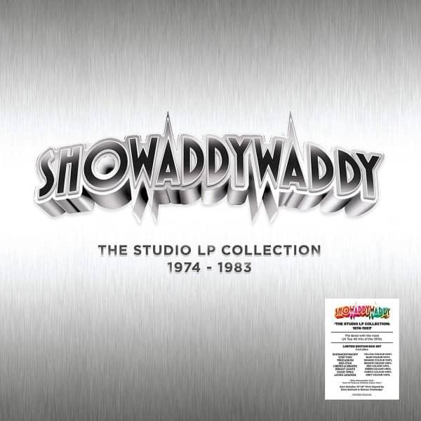 The Studio Collection 1974 - 1983 (8-LP 180g, Ltd. Edition Box Set) (Colored Vinyl)