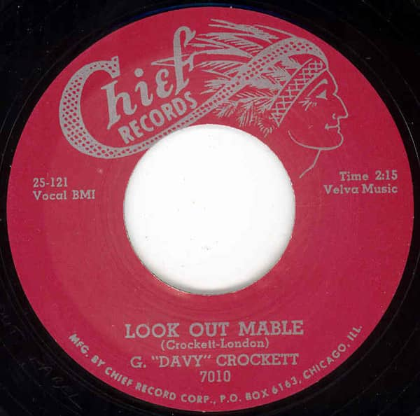 Look Out Mabel b-w Did You Ever Love Somebody 7inch, 45rpm