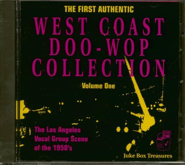 West Coast Doo Wop Collection (CD)
