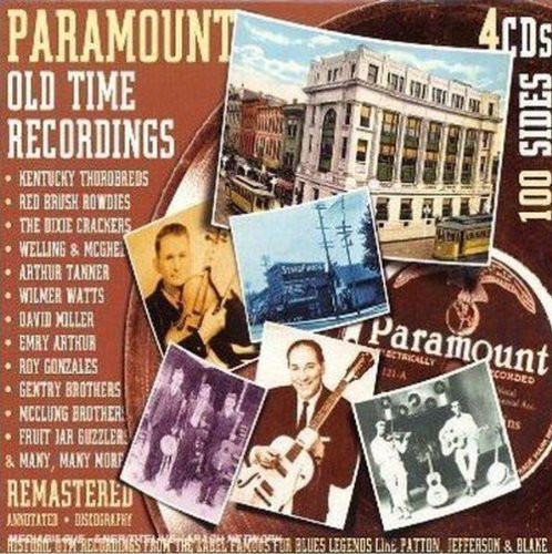 Paramount Old Time Music (4-CD-Box)
