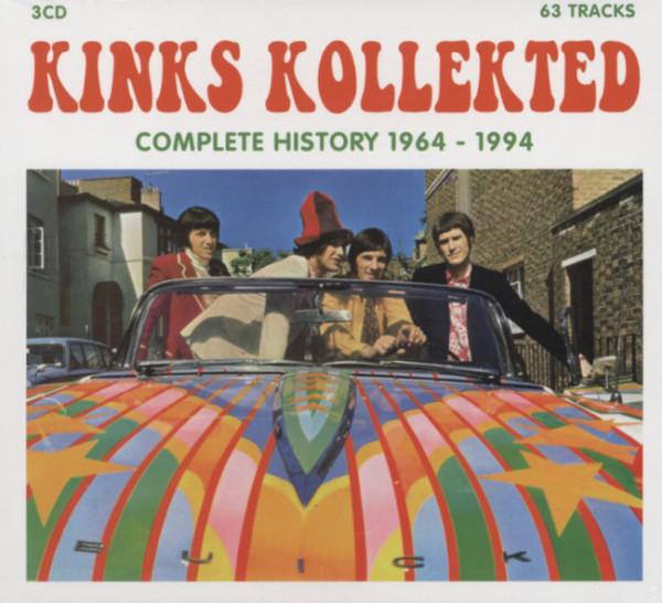 Kollekted - Complete History 1964-94 (3-CD)
