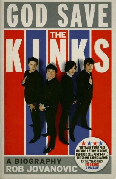 God Save The Kinks - A Biography by Rob Jovanovic
