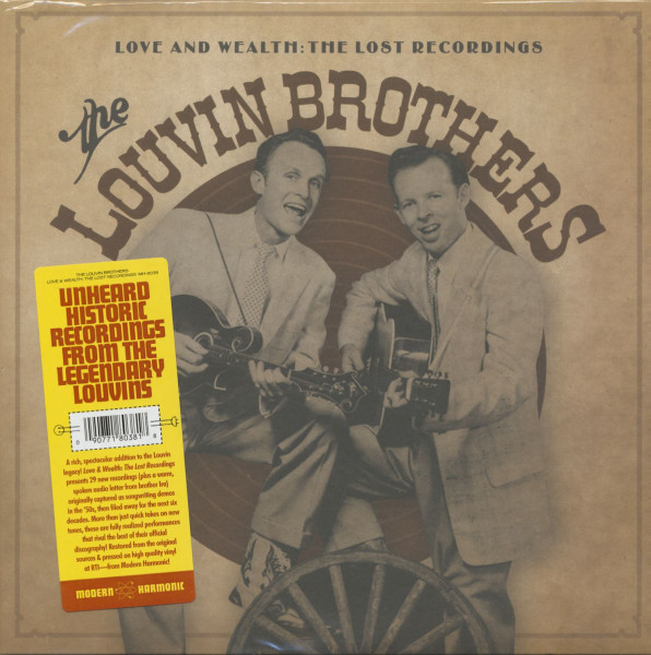 Love And Wealth - The Lost Recordings (2-LP)