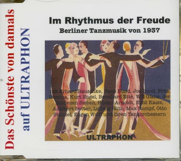 Berliner Tanzmusik von 1937 - Das Schönste Von Damals (CD)