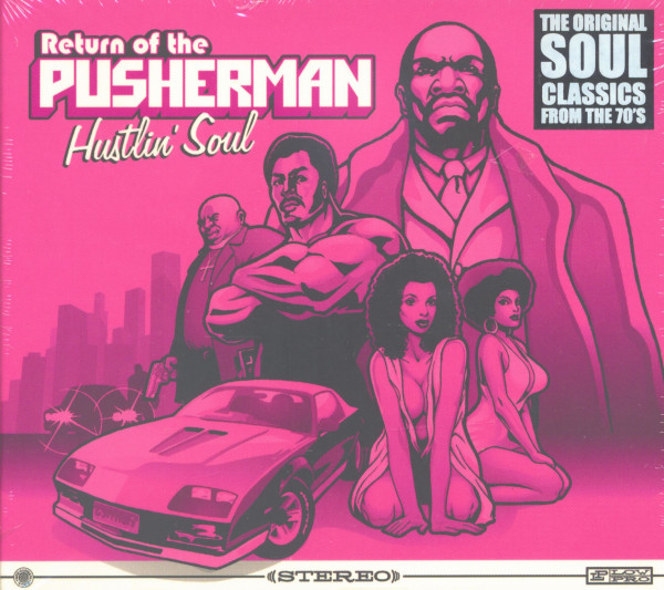 Return Of The Pusherman-Hustlin' Soul (3-CD)