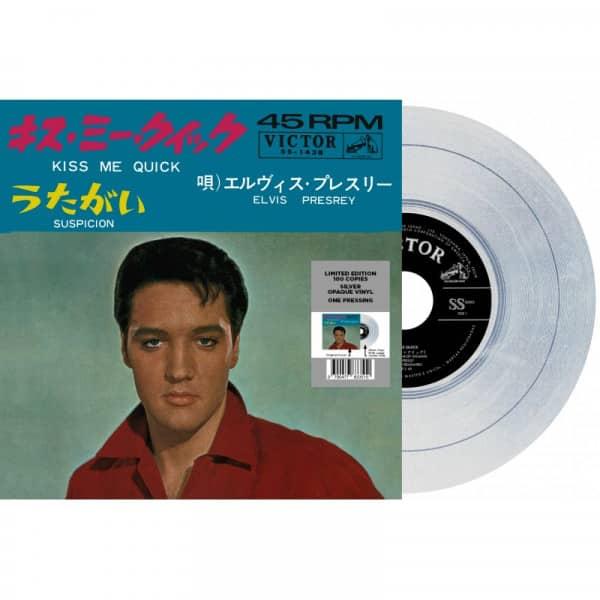 Kiss Me Quick - Suspicion (7inch, 45rpm, Silver Vinyl, Ltd.)