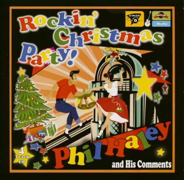 Rockin' Christmas Party (7inch, EP 45rpm, PS)