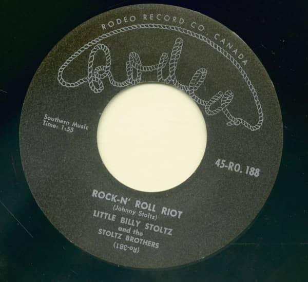 Rock & Roll Riot - Eddy's Rock (7inch, 45rpm)