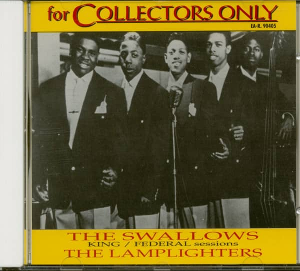 For Collectors Only: The Swallows - The Lamplighters (King + Federal Sessions) (CD)