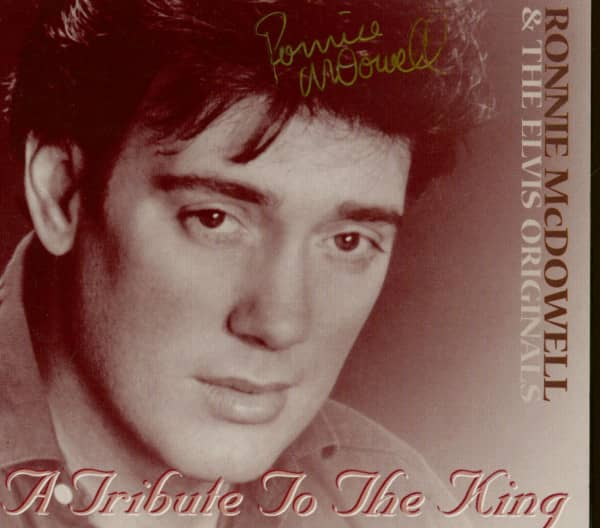 A Tribute To The King (CD - signed)