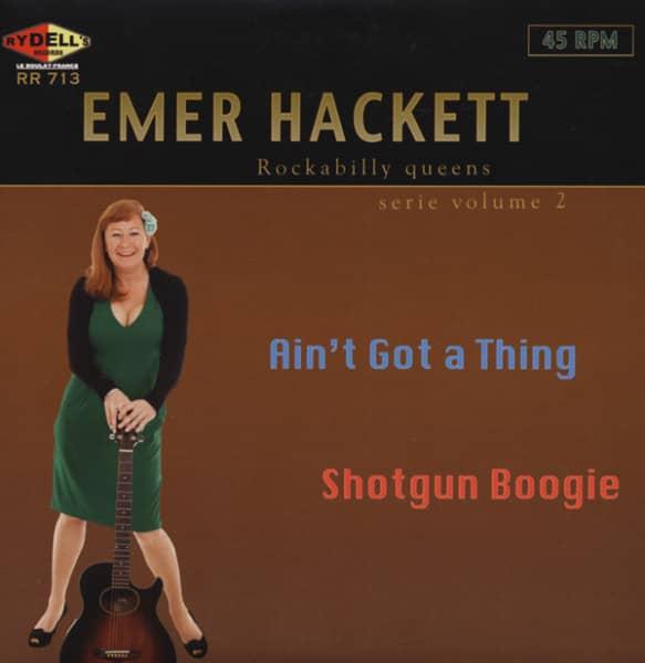 Ain't Got A Thing b-w Shotgun Boogie 7inch, 45rpm, PS, SC
