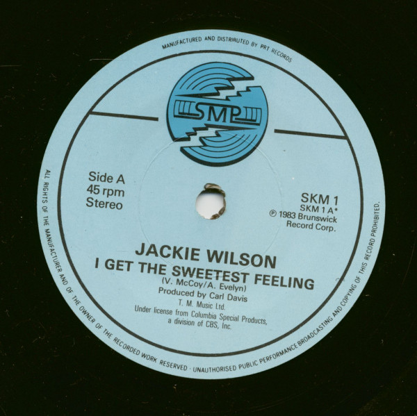 I Get The Sweetest Feeling - Whispers - Higher And Higher (7inch, 45rpm, SC)