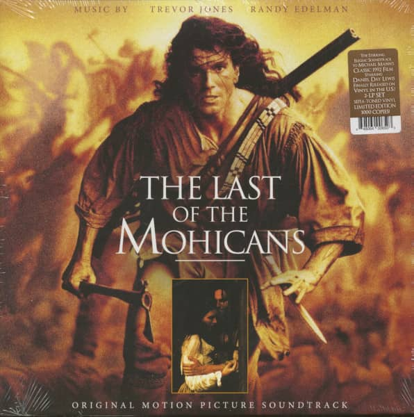 The Last Of The Mohicans - Soundtrack (2-LP, 180g Vinyl, Ltd.)