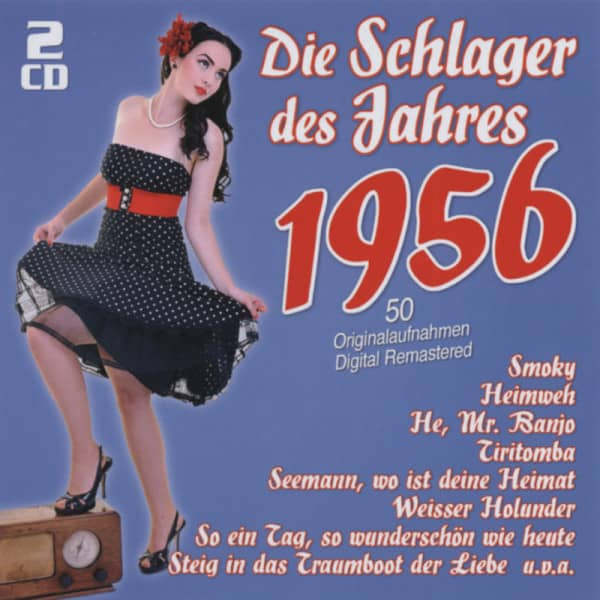 1956 - Die Schlager des Jahres (2-CD)
