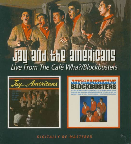 Live From The Cafe Wha? - Blockbusters (CD)
