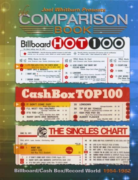The Comparison Book - Billboard, Cash Box, Record World 1954-1982
