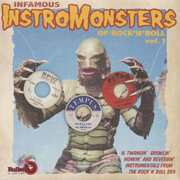 Infamous Instro Monsters Of Rock'n'Roll Vol.1 (LP)
