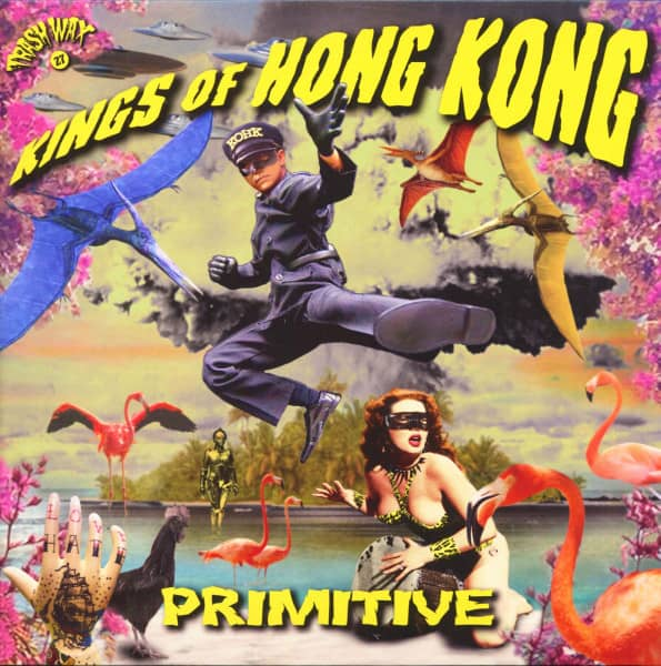 Primitive (LP, Pink Vinyl, Ltd.)