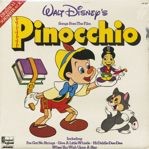 Walt Disney's Pinocchio - Soundtrack (LP)