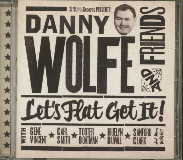 Danny Wolfe And Friends - Let's Flat Get It (CD)