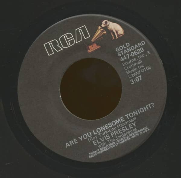Are You Lonesome Tonight - I Gotta Know (7inch, 45rpm)
