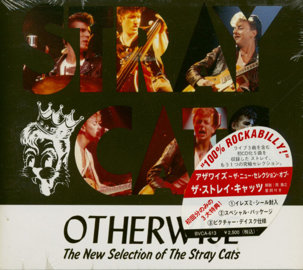 Otherwise- The New Selection Of The Stray Cats (CD Japan)