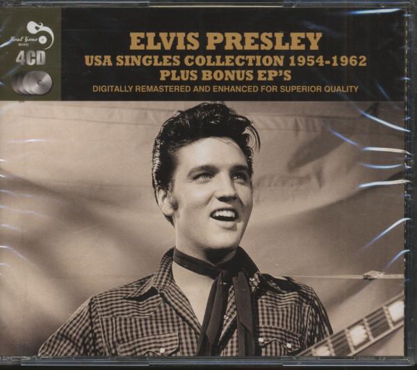 USA Singles Collection 1954 - 1962 Plus Bonus EPs (4-CD)