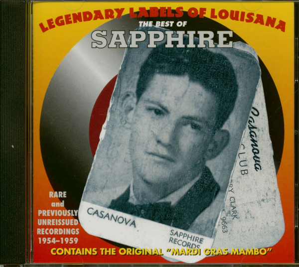 Legendary Labels Of Louisiana - The Best Of Sapphire (CD)