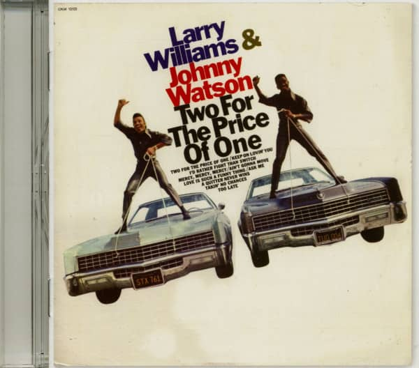 Two For The Price Of One (CD)