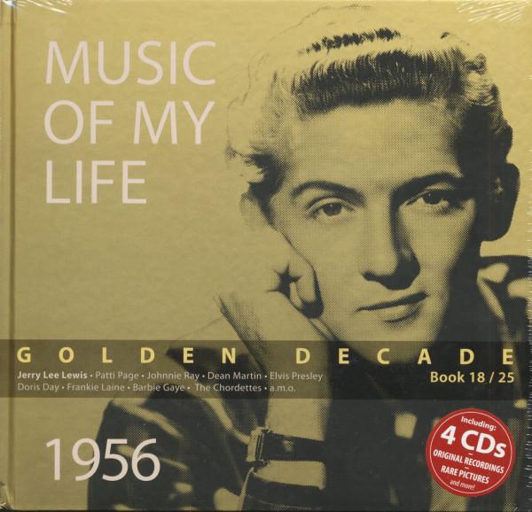 Golden Decade Vol.18 - 1956 (Book & 4-CD)