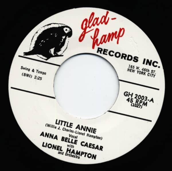 Little Annie - I've Got My Man 7inch, 45rpm