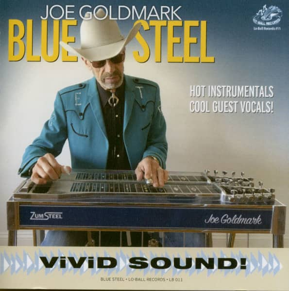 Blue Steel - Hot Instrumentals Cool Guest Vocals! (CD)