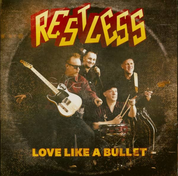 Love Like a Bullet - Get Up and Get Out (7inch, 45rpm, PS)