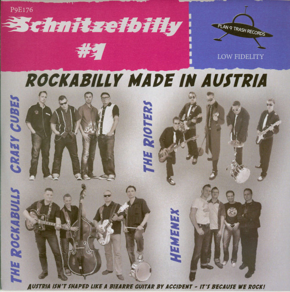 Schnitzelbilly No.1 - Rockabilly Made In Austria (7inch, 33rpm, EP, PS, SC)