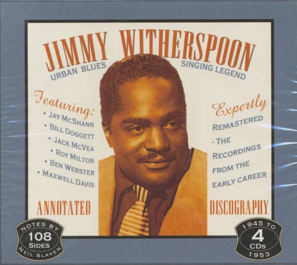 Urban Blues Singing Legend (4-CD)