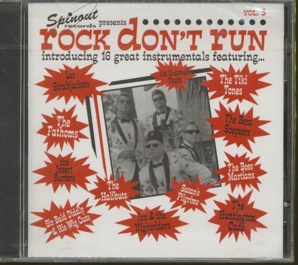 Rock Don't Run, Vol.3 (CD)