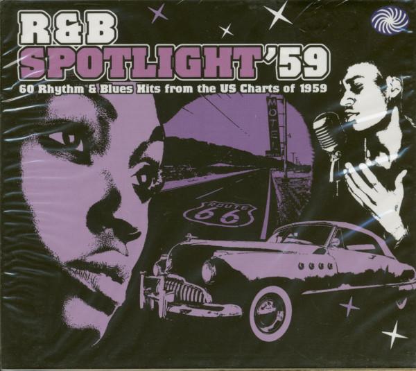R&B Spotlight '59 - 60 Rhythm & Blues Hits From the US Charts oif 1959 (2-CD)