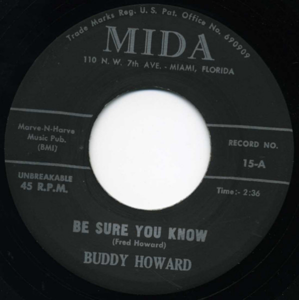 Be Sure You Know - Take Your Hands Off... 7inch, 45rpm