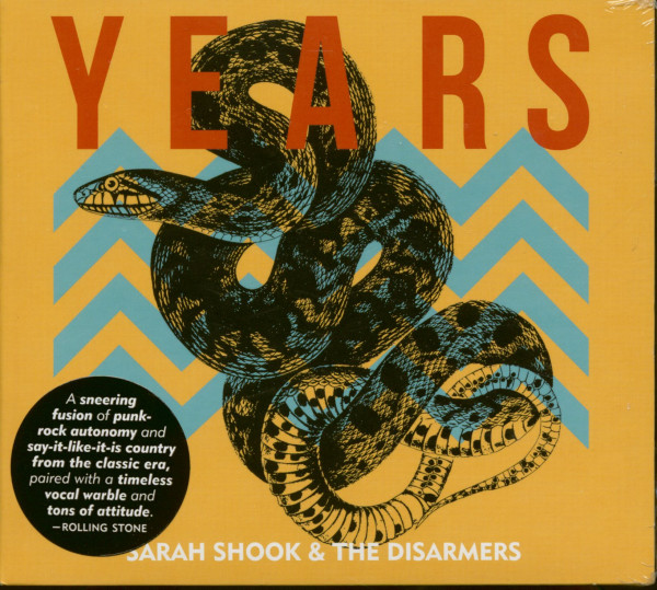 Sara Shook & The Disarmers - Years (CD)