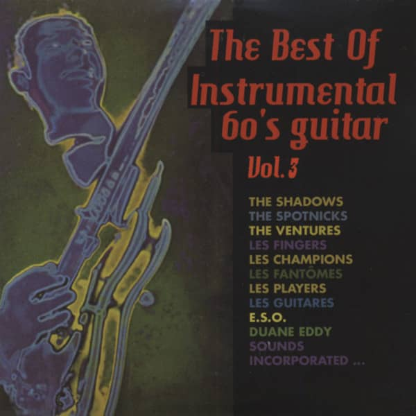 Vol.3, The Best Of Instrumental 60's Guitar..