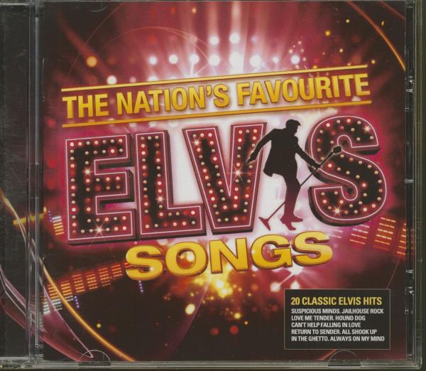 The Nation's Favorite Elvis Songs (CD)