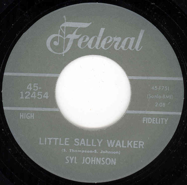 Little Sally Walker - I Resign From Your..7inch, 45rpm