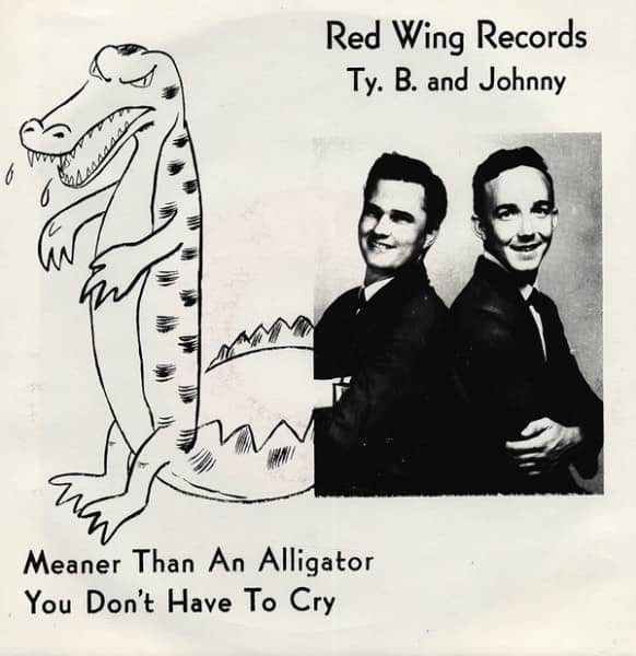 Meaner Than An Alligator 7inch, 45rpm, PS