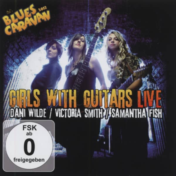 Girls With Guitars - Live (CD-DVD)