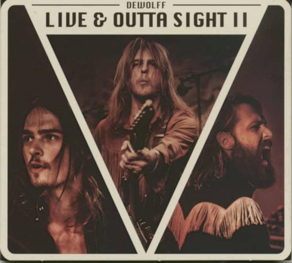 Live & Outta Sight II (CD)