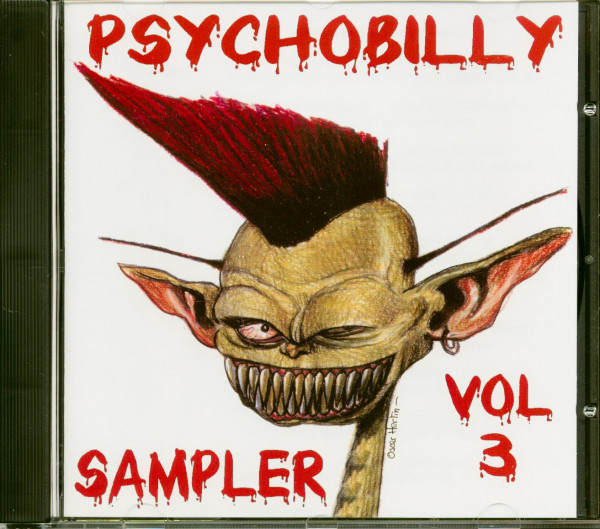 Psychobilly Sampler Vol.3 (CD)