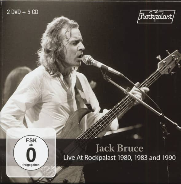 Live At Rockpalast 1980, 1983 And 1990 (5-CD & 2-DVD)