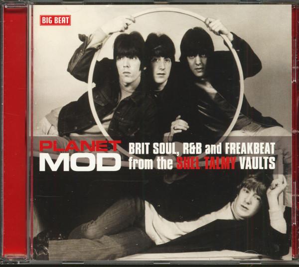 Planet Mod - Brit Soul, R&B & Freak Beat From The Shel Talmy Vaults (CD)
