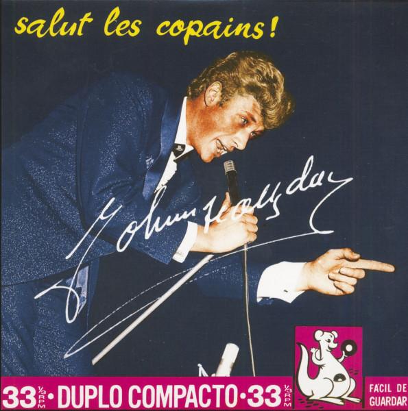 Salut Les Copains (7inch, EP, 33rpm, PS, SC, Pink Vinyl, Ltd.)