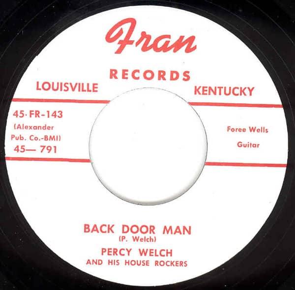 Back Door Man - Nursery Rhyme Rock 7inch, 45rpm